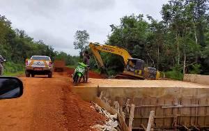 Pembangunan Jalan dari Cempaka Mulia Timur - Seranau Ditarget Selesai 2020 Ini