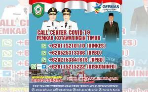 Ini Call Center Kotawaringin Timur untuk Kasus Covid-19