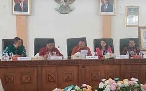 Wakil Bupati Barito Timur Pimpin Rapat Rekonsiliasi Setoran Pajak Pusat