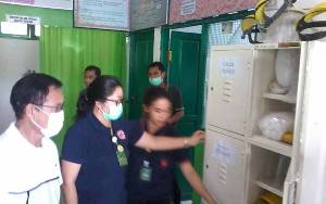 Bupati Katingan Cek Ruang Isolasi RSUD Mas Amsyar Antisipasi Virus Corona