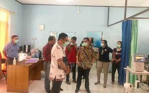 Gugus Tugas Covid-19 Kalteng Tinjau RSUD Mas Amsyar Kasongan