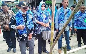 Desa Pendreh Mulai Dinilai Tim untuk Lomba Desa Kabupaten Barito Utara 2020
