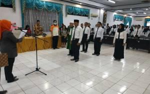 KPU Kotim Lantik 552 Anggota PPS