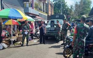 Unsur Tripika Murung Patroli Sampaikan Imbauan Cegah Covid-19