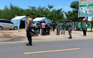 Pemkab Kapuas Dirikan Posko Pengawasan di Perbatasan Kalteng-Kalsel Antisipasi Covid-19