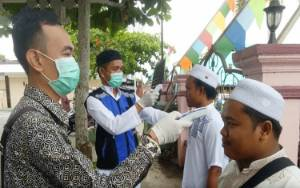 Pengajian Akbar di Barito Utara Tetap Digelar, Jemaah Diperiksa Suhu Tubuh