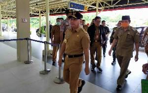 Gubernur Kalteng Pastikan Kesiapan RSUD dr Murjani Sampit untuk Penanganan Covid-19