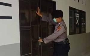Personel Polsek Kahayan Patroli Pastikan Fasilitas Sekolah Dalam Kondisi Aman