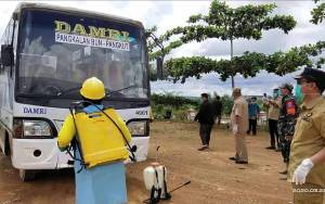DPRD Kobar Ingatkan Penyedia Jasa Layanan Umum Semprotkan Disinfektan