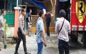 Polisi Datangi Rumah di Jalan Sapan Palangka Raya, Diduga Timbun Gula Pasir