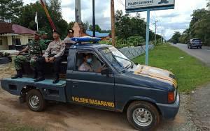 TNI - Polri Patroli Pengamanan Perayaan Hari Raya Nyepi di Basarang