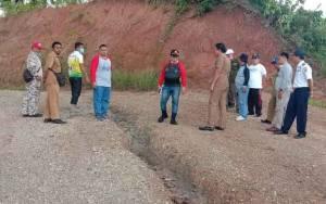 Bupati Bartim Instruksikan Perbaikan Permanen Jembatan Sungai Garunggung