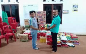 PT MKM Salurkan Bantuan untuk 300 Kepala Keluarga Korban Banjir di Desa Gandang Barat
