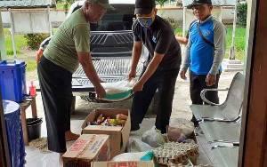 Pemerintah Desa Tahai Jaya Salurkan Bantuan untuk 6 KK yang Dikarantina karena Berstatus ODP