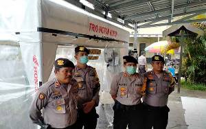 Polres Gunung Mas Stop Sementara Layanan SKCK dan Sidik Jari Selama Wabah Virus Corona