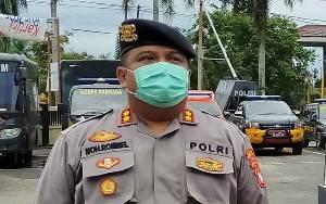 Cegah Covid-19, Polres Kotim Ingatkan Ancaman Pidana Bagi Warga Melawan Saat Dibubarkan di Keramaian