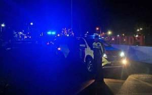 Polres Kapuas Rutin Patroli Malam Pantau Pusat Keramaian Selama Darurat Covid-19
