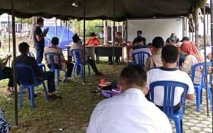 Satgas Penanganan Covid-19 Kapuas Gelar Rapat Evaluasi