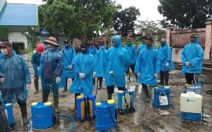 Desa Bangun Harja Bentuk Relawan Pencegahan Virus Corona
