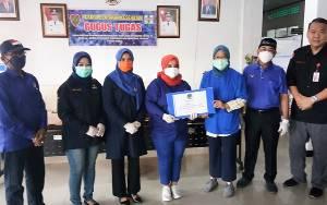 DPW Nasdem Kalteng Sumbang APD Senilai Rp25 Juta ke RSUD Doris Sylvanus