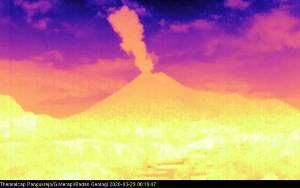 Gunung Merapi Meletus Lagi dengan Tinggi Kolom 1.500 Meter