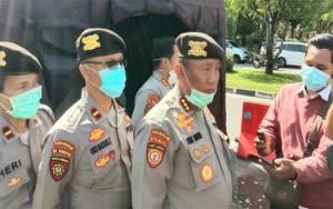 Hari Ini Kendaraan Bermotor di Jalan Yos Sudarso Wajib Masuki Bilik Disinfektan
