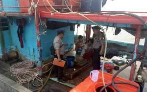 Polisi Pantau Kapal Nelayan di Perairan Seruyan