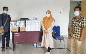 PKS Barito Utara Serahkan Bantuan APD ke RSUD Muara Teweh