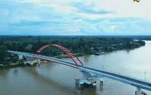 PUPR Sebut Jembatan Tumbang Samba Tingkatkan Ekonomi Masyarakat