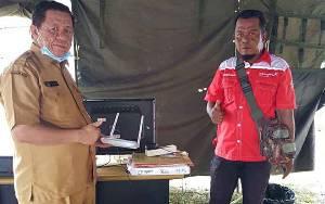 Dinas Kominfo Kapuas Pasang Wifi di Posko Covid-19 untuk Permudah Koordinasi
