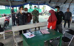 Bupati Kunjungi Posko Pemantauan Covid-19 di Pintu Masuk Kuala Pembuang