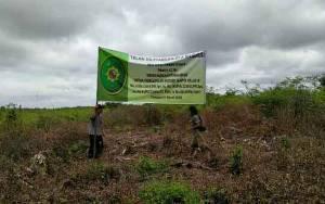 Pengadilan Negeri Sampit Sita Eksekusi Lahan 62 Hektare Milik Kelompok Tani Hapakat Bersama