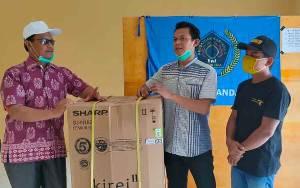 Mantan Wakil Bupati Lamandau Silaturahmi ke PWI Lamandau