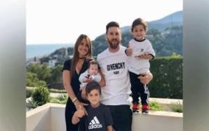 Lionel Messi Pamerkan Video Saat Berlatih Bareng Anak Bungsunya