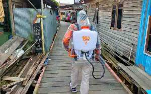 Wali Kota Palangka Raya: Penyemprotan Disinfektan Terus Dilaksanakan