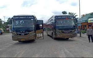 PO Bus di Pangkalan Bun Hentikan Sementara Operasional ke Palangka Raya