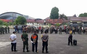 Personel TNI yang Perkuat Satgas Covid-19 Palangka Raya Disebar ke 12 Kelurahan