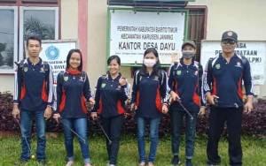 Bantu Cegah Covid 19, Karang Taruna Desa Dayu Bagikan Maklumat Kapolri