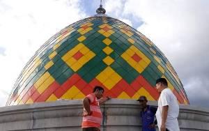 Pengurus Masjid Algufron Kereng Humbang Katingan Harap Wabah Virus Corona Segera Berlalu