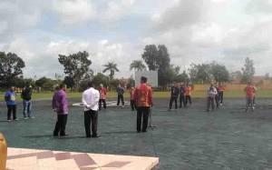 Bupati Sukamara Kumpulkan Semua Kepala SOPD Sambil Jemuran, Evaluasi Penanganan Covid-19