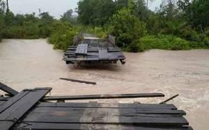 Warga Tewang Pajangan Berharap Perbaikan Jembatan Putus Menggunakan Konstruksi Baja