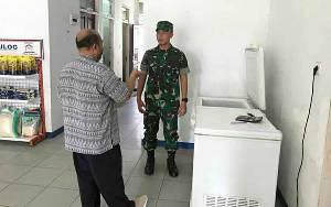 Pgs Dandim 1011 Kuala Kapuas Sambangi Kantor Bulog Cek Stok Beras