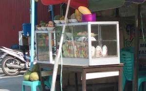 Pendapatan Pedagang Turun Drastis Akibar Virus Corona di Palangka Raya