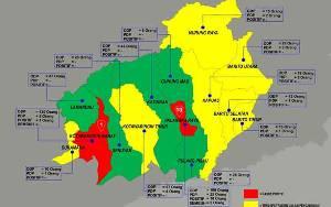 Ini Sebaran ODP dan PDP Covid-19 Per 3 April 2020 Tiap Kabupaten dan Kota di Kalteng
