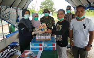 Anggota DPRD Kalteng Semangati Petugas di Posko Pantau Covid-19 Seruyan