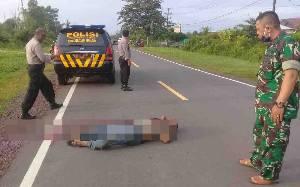 Pria Tanpa Identitas Tewas Bersimbah Darah di Lingkar Selatan Sampit