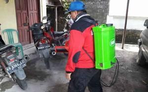 Hari ini, BPBD Palangka Raya Semprot Disinfektan di 9 Lokasi
