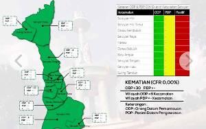 Ada Penambahan ODP Baru di Kecamatan Hanau