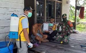 Polri dan TNI Bersinergi Sosialisasikan Bahaya Virus Corona