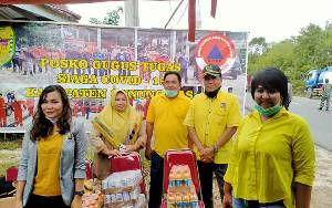 Fraksi Golkar DPRD Gunung Mas Minta Masyarakat Dukung Tenaga Medis Cegah Virus Corona